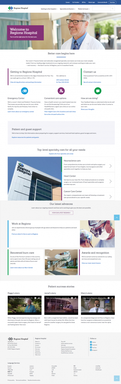 Regions Hospital Redesign