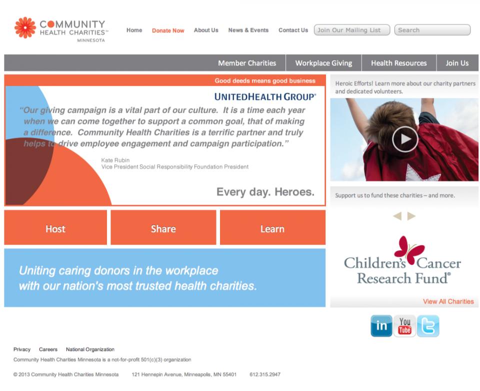 Community Health Charities of Minnesota